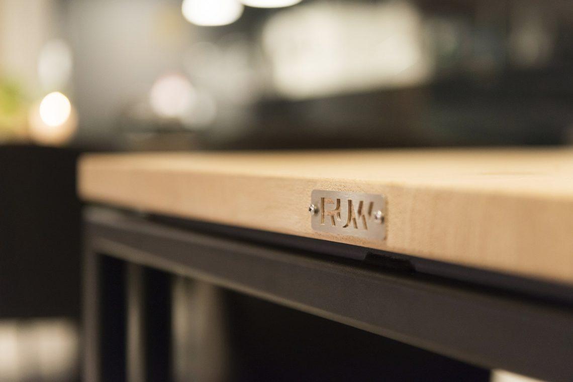 Interieurproject EMMA RUW eiken tafel
