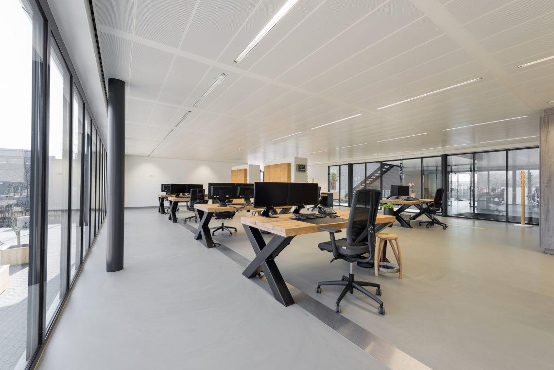 Interieurproject Therminon kantoorruimte design