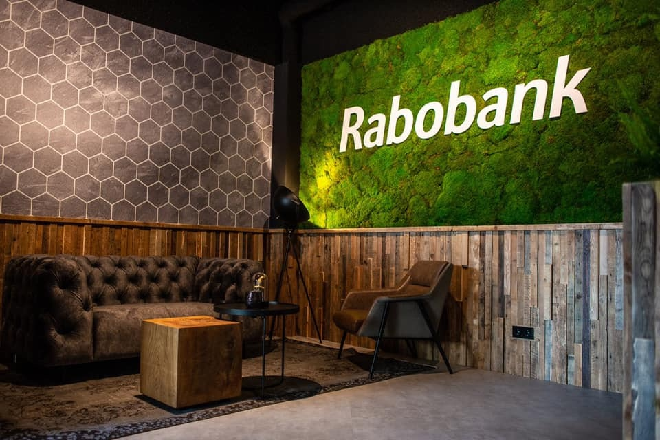 Interieurproject Skybox Rabobank design eiken
