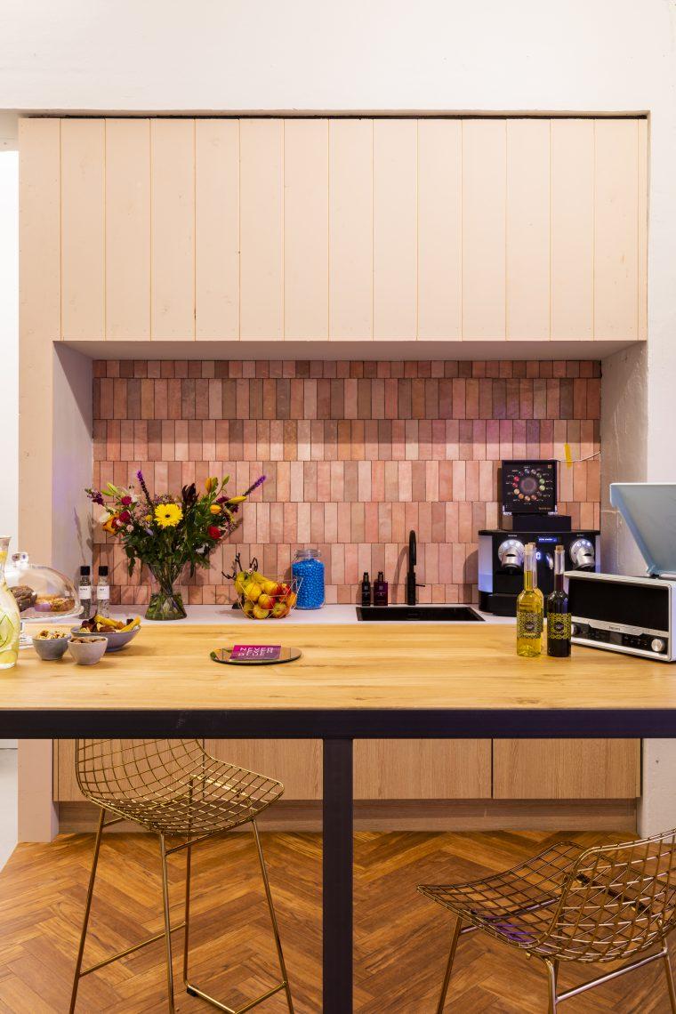 Interieurproject Never Ever Blue tafel